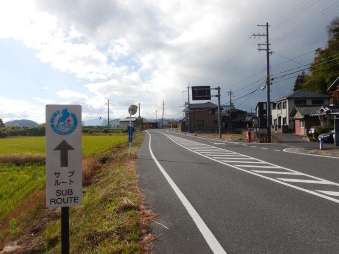 兵庫県道25号・彦根近江八幡線を走る