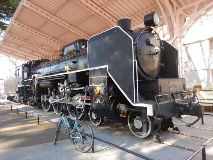 仙台市、西公園の蒸気機関車C601