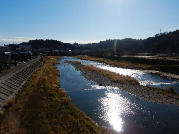 仙台市を流れる広瀬川